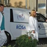 Rosa donirala Institutu za neonatologiju vozilo za prikupljanje humanog mleka