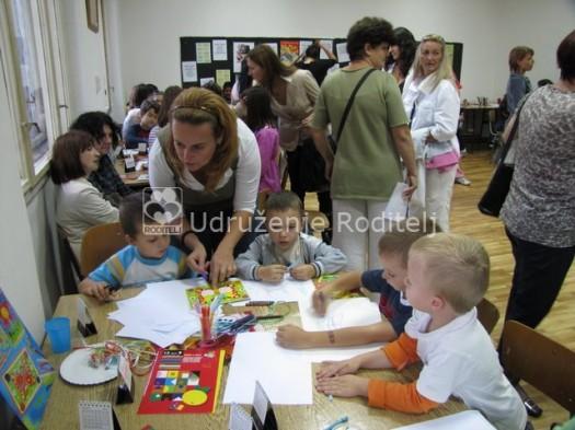 Kreativna radionica u Kids Areni