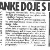 Beograđanke doje s ponosom
