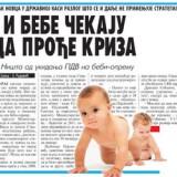 I bebe čekaju da prođe kriza