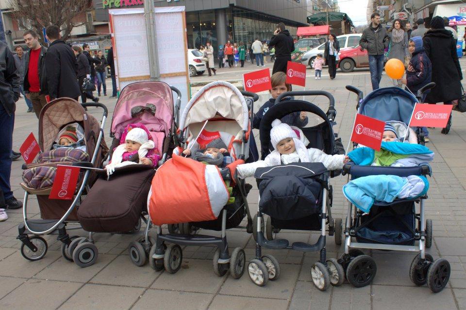 PDV Glasaj za bebe