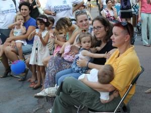 Nedelja dojenja u Novom Sadu 2. avgusta