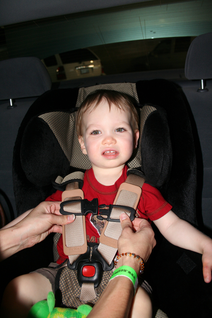 Strapped in the Car Seat