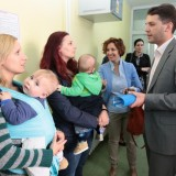 Rosa pomogla formiranje banke humanog mleka u Novom Sadu