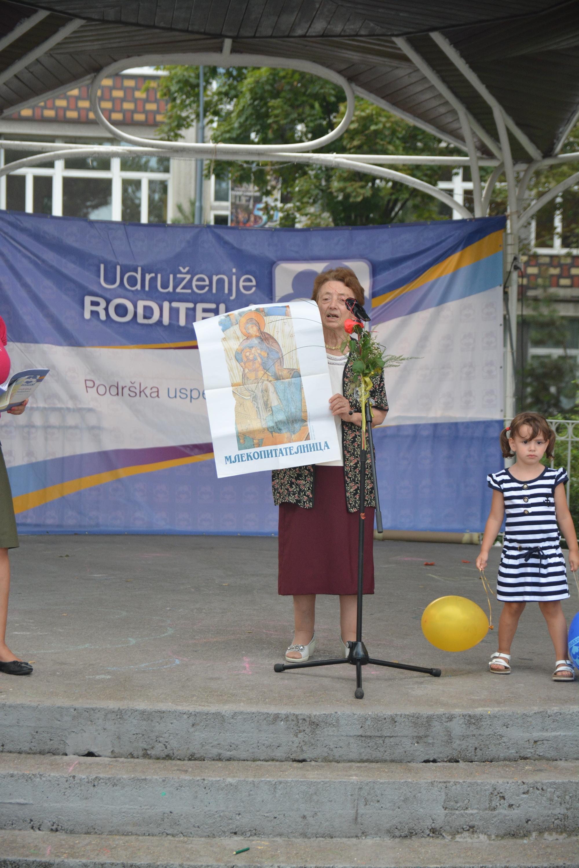 dr Vida Parezanović, dugogodišnji promoter dojenja