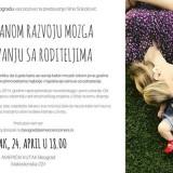 Predavanje Nine Sokolović o razvoju bebinog mozga