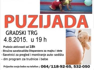 """6. """"Puzijada"""" i Svetska nedelja dojenja u Užicu"""