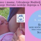 Svetska nedelja dojenja 2015 u Novom Sadu