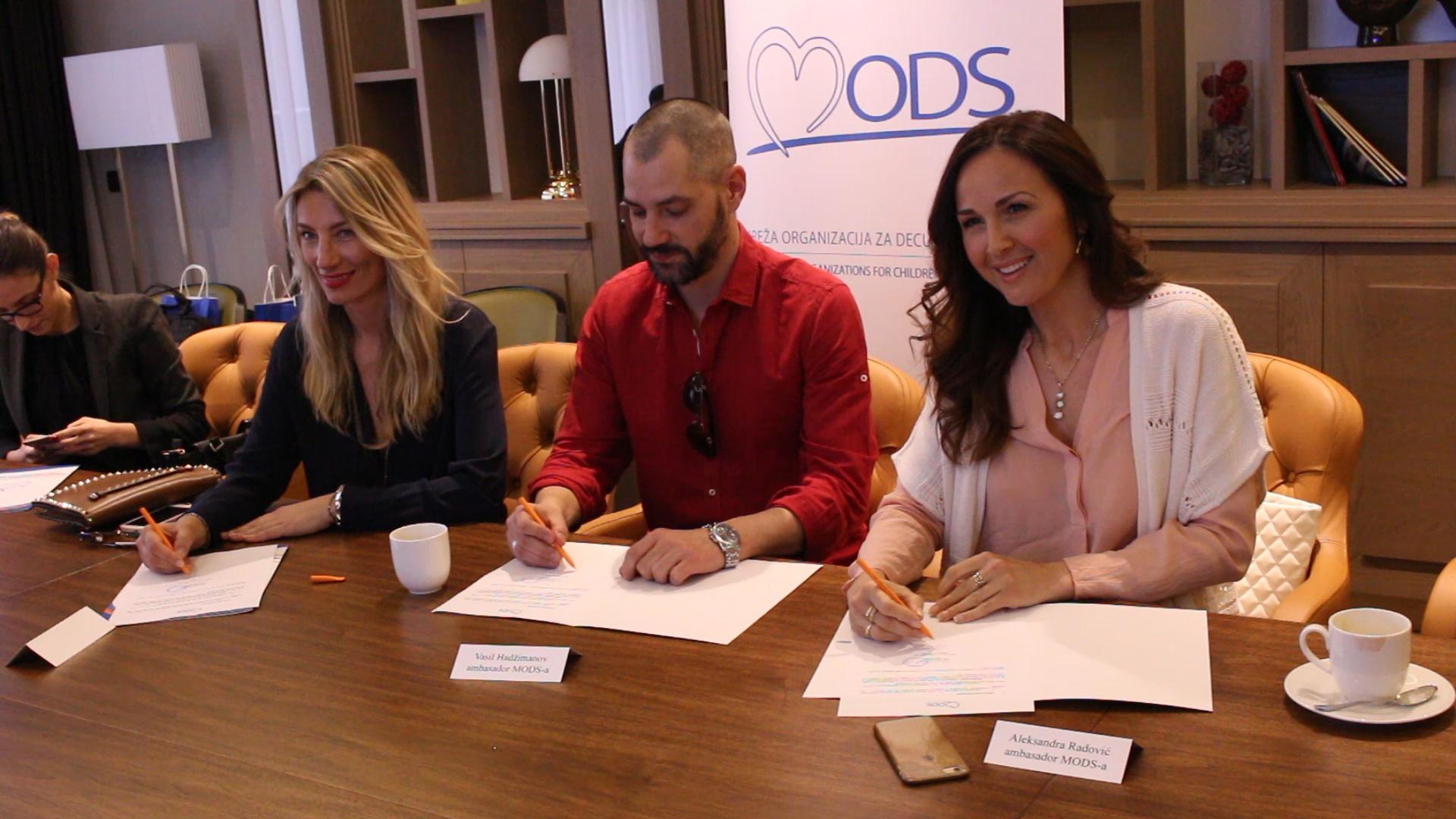 Poznati se pridružili klubu prijatelja MODS - Svim srcem za decu Srbije