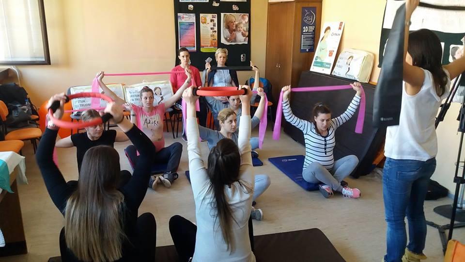 Pilates za trudnice u Užicu
